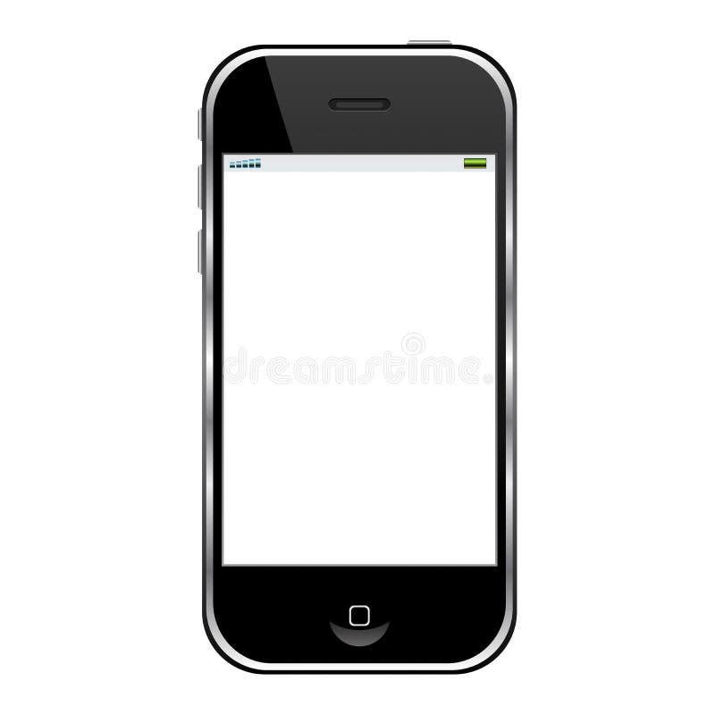 Moderner Handy stock abbildung