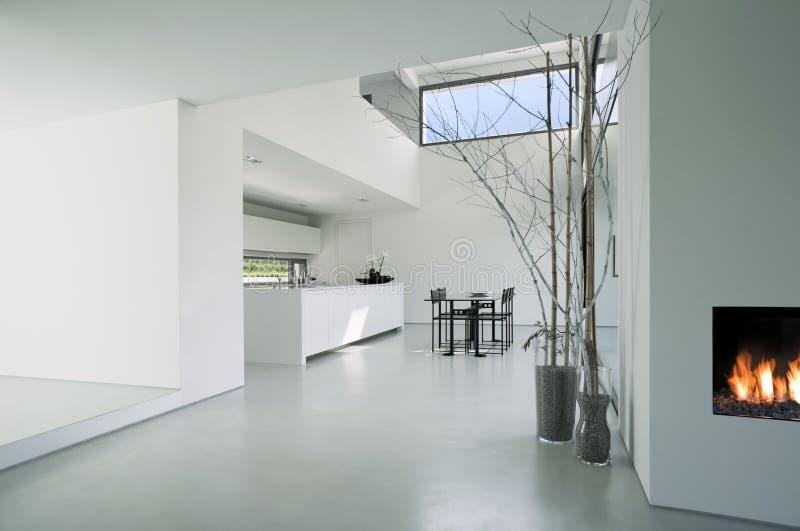 Moderner Hausinnenraum stockfotos