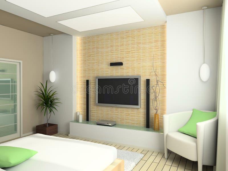Moderner Innenraum lizenzfreie abbildung