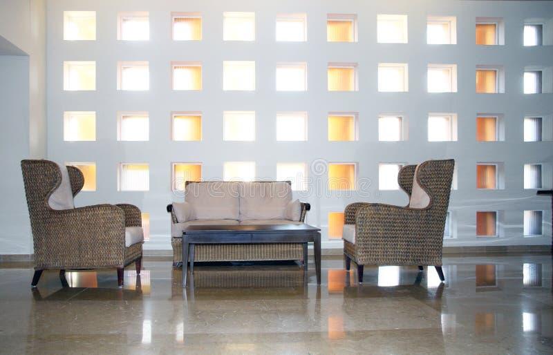 Moderner Innenraum stockbild