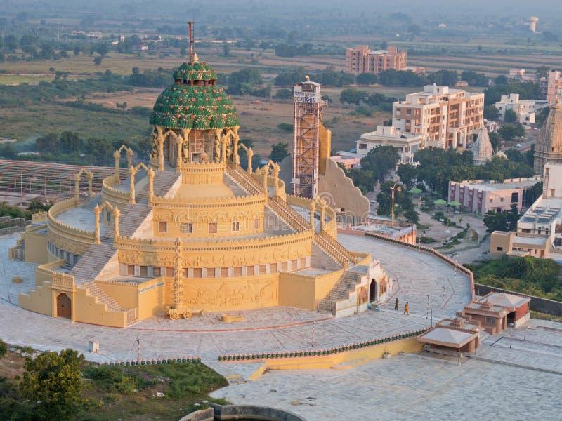 Moderner Jain Tempel in West-Indien lizenzfreies stockfoto