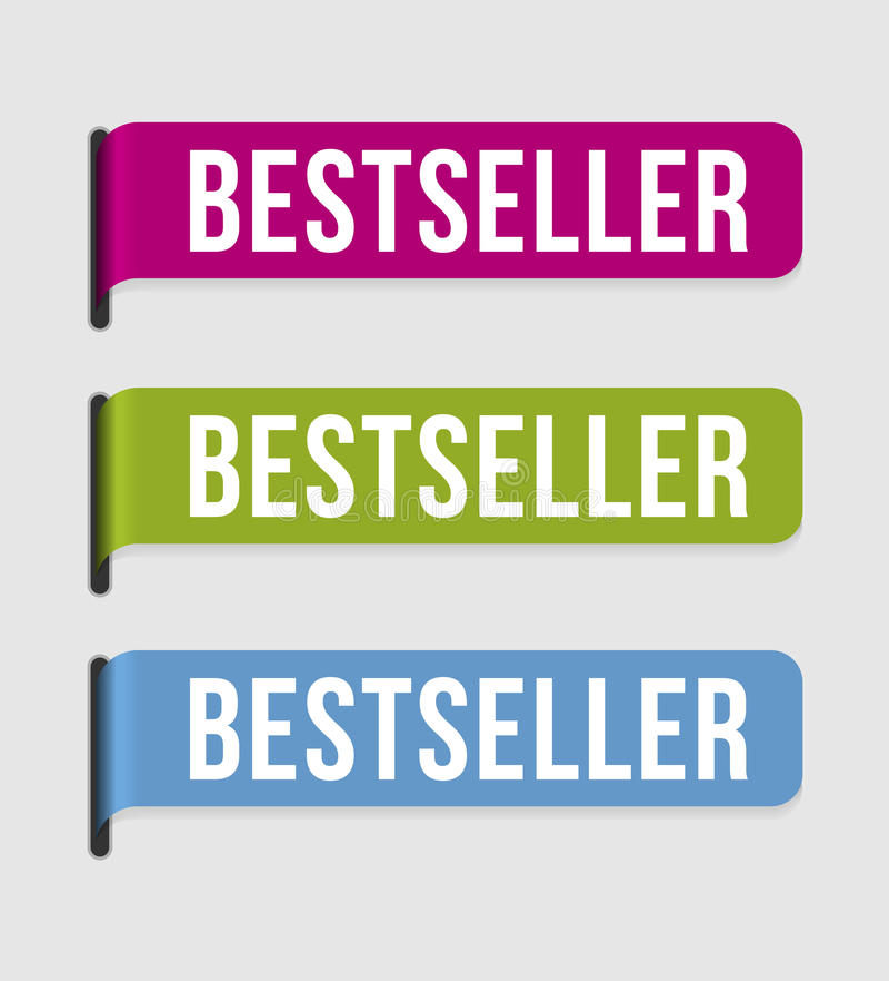 Moderner Kennsatz â Bestseller vektor abbildung