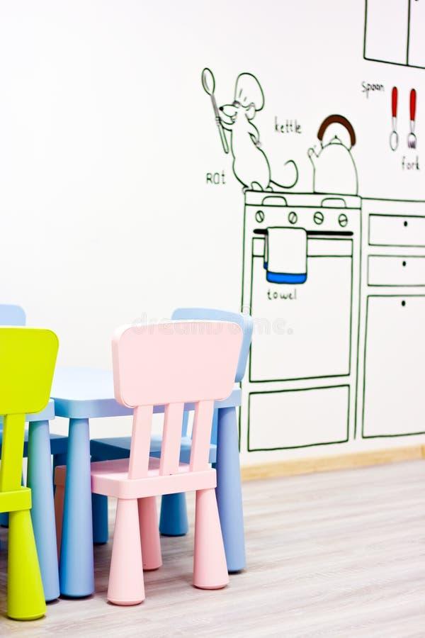 Moderner Kindergarten stockbilder