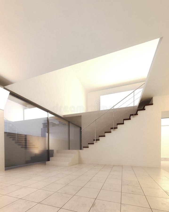 Amazing Download Moderner Leerer Raum   Architektur Innenraum Stock Abbildung    Illustration Von übertragung, Modern