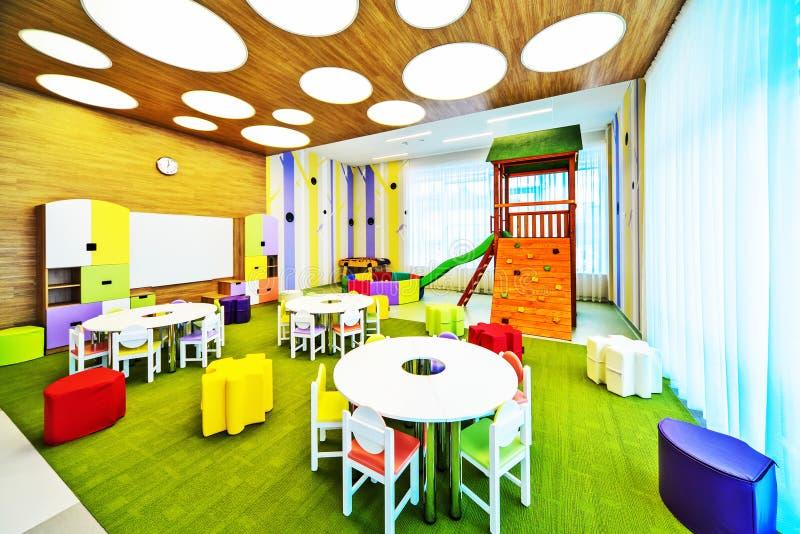 Moderner Schulinnenraum stockfotos