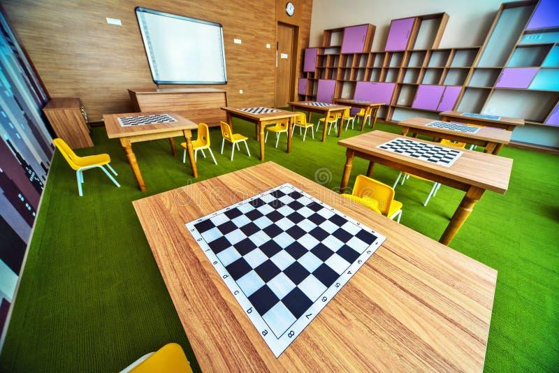 Moderner Schulinnenraum lizenzfreies stockfoto