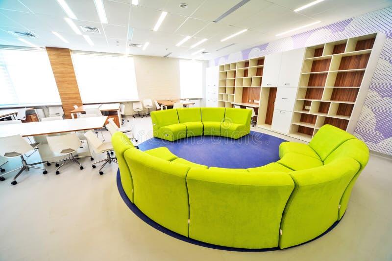 Moderner Schulinnenraum lizenzfreies stockbild