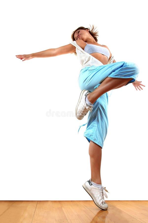 Moderner Tänzer der Frau lizenzfreie stockfotos