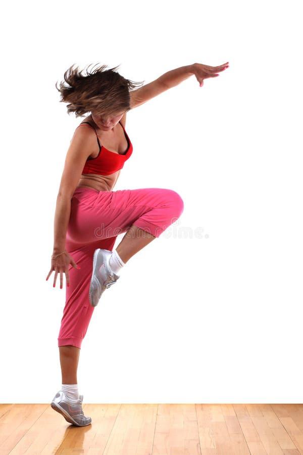 Moderner Tänzer der Frau stockfoto