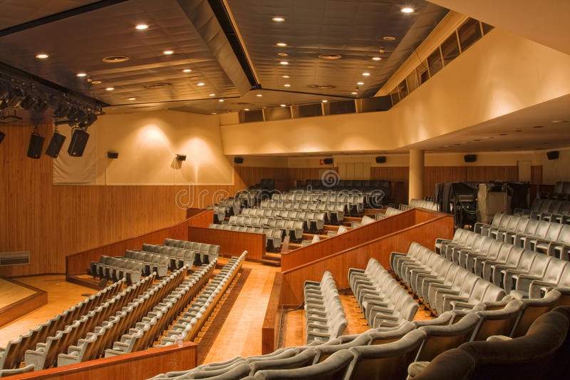 modernes Auditorium lizenzfreie stockfotografie