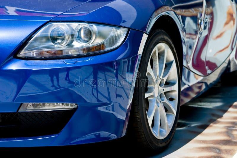 Modernes Auto stockfoto