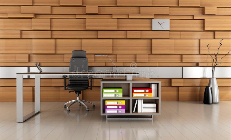 Modernes Büro stock abbildung