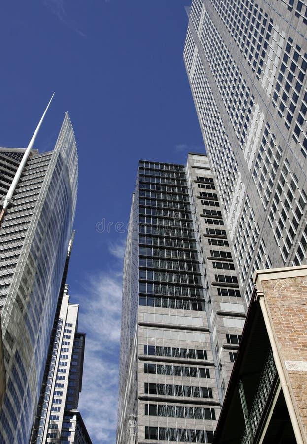 Modernes Bürohaus in Sydney, Australien lizenzfreies stockbild