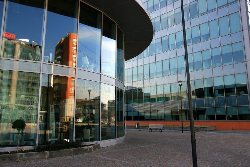 Modernes Büroviertel lizenzfreie stockfotografie