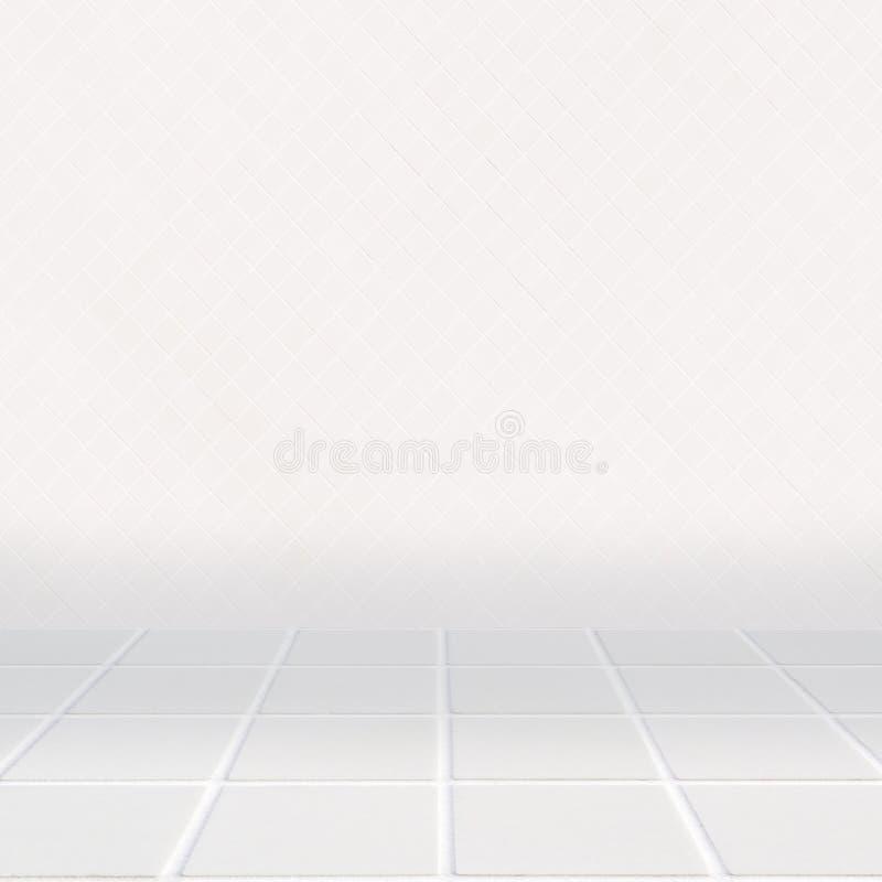 Modernes beige Mosaik mit kleinen Diamanten lizenzfreie stockfotografie