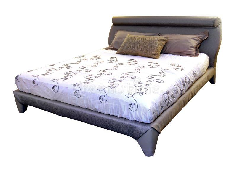 Modernes Bett lizenzfreie stockfotografie