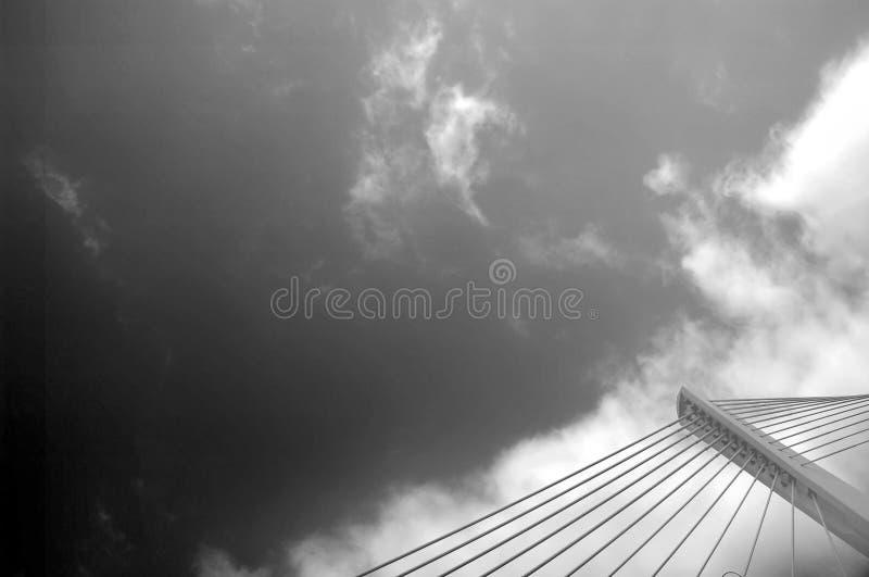 Modernes Brückendetail lizenzfreies stockfoto