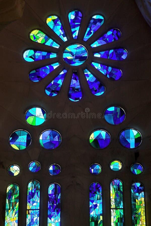 Modernes Buntglas lizenzfreies stockbild