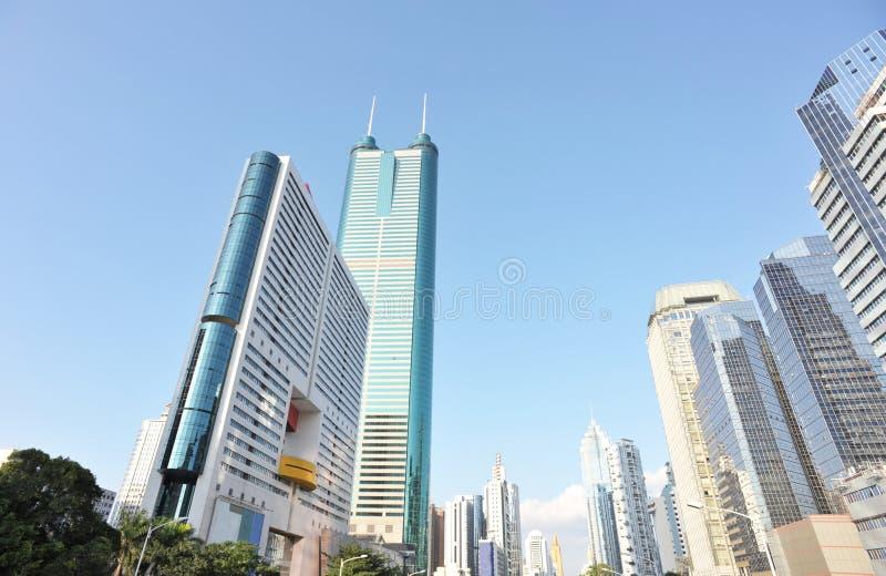 Modernes commerical Gebäude stockbild