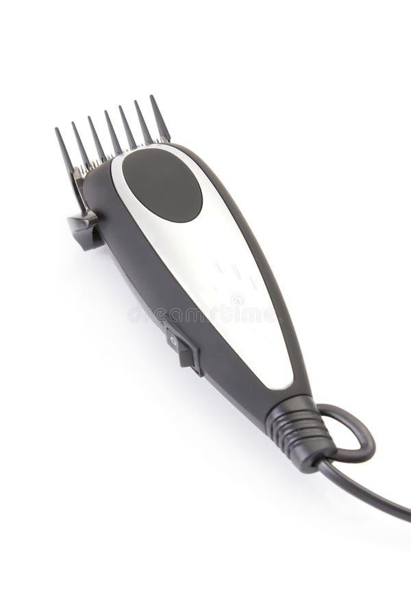 Modernes elektrisches Haar/Barttrimmer lizenzfreies stockbild