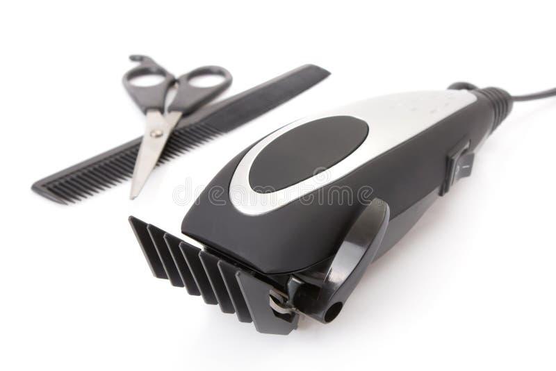 Modernes elektrisches Haar/Barttrimmer stockfotografie