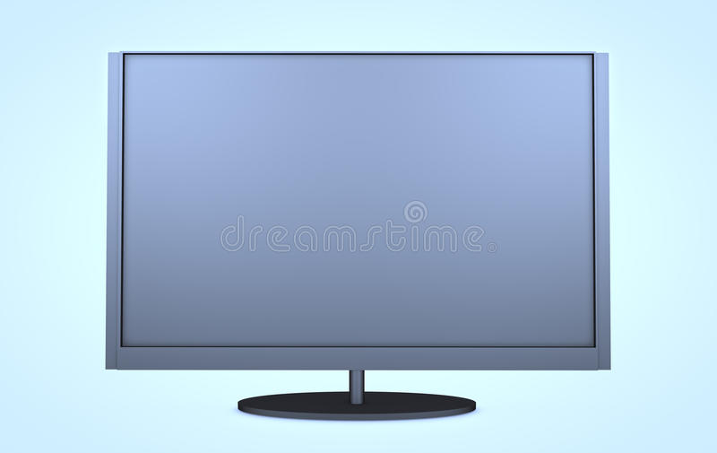Modernes Fernsehen lizenzfreie stockfotos