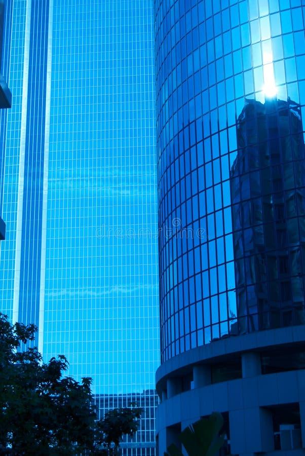 Modernes Gebäude, amerikanische Stadt stockbild