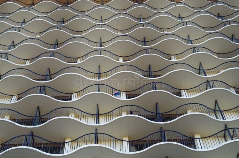 Modernes Gebäude, amerikanische Stadt lizenzfreies stockfoto