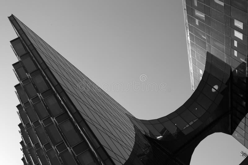 Modernes Gebäude in London lizenzfreie stockfotos