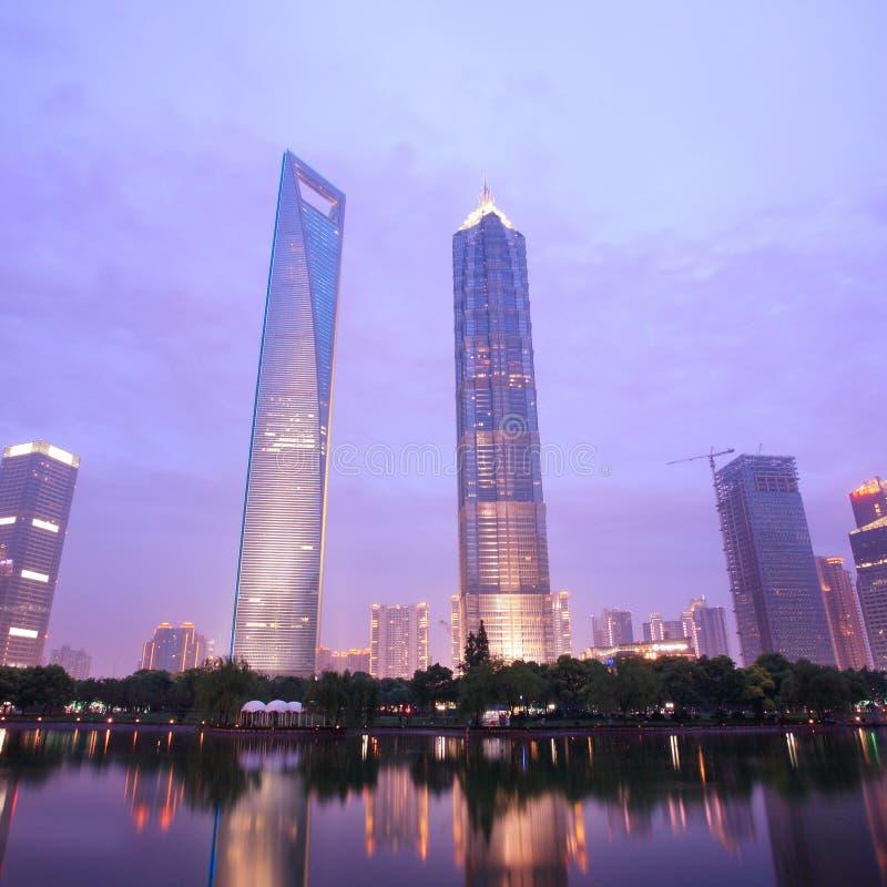 Modernes Gebäude in Shanghai lizenzfreie stockfotografie