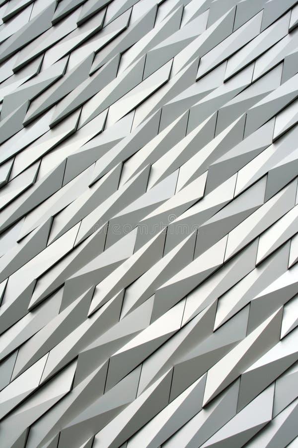 Modernes Gebäudedetail lizenzfreie stockfotografie