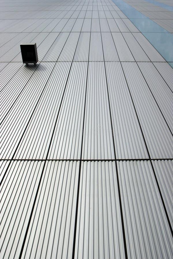 Modernes Gebäudedetail stockbild