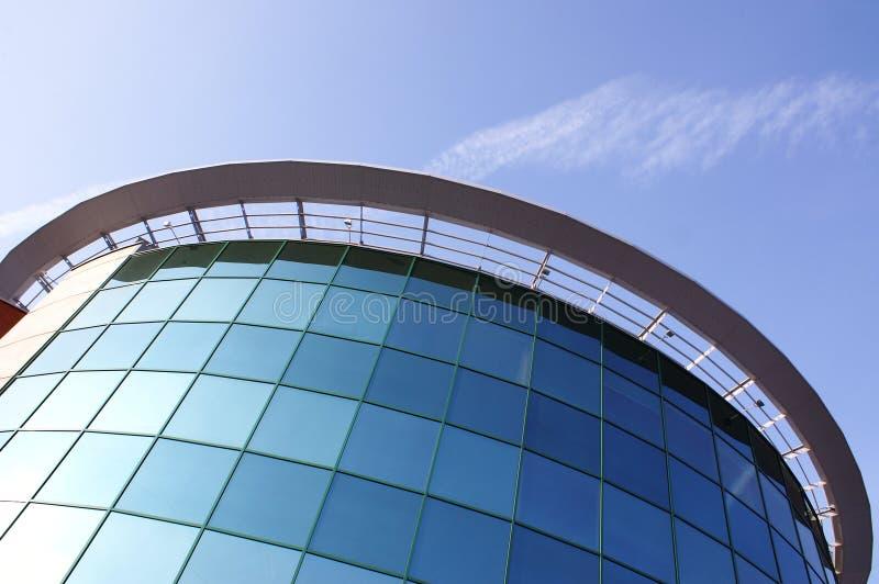 Modernes genossenschaftliches Gebäude stockbilder