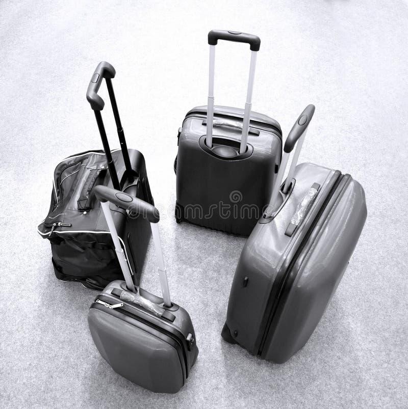 Modernes Gepäck lizenzfreie stockfotografie