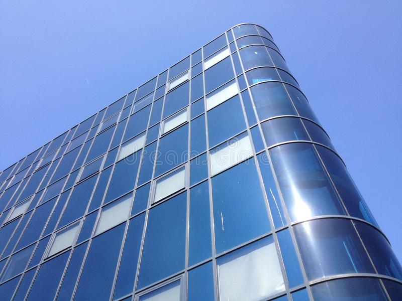 Modernes glas Bürogebäude in Rijswijk, Netherlan stockbild