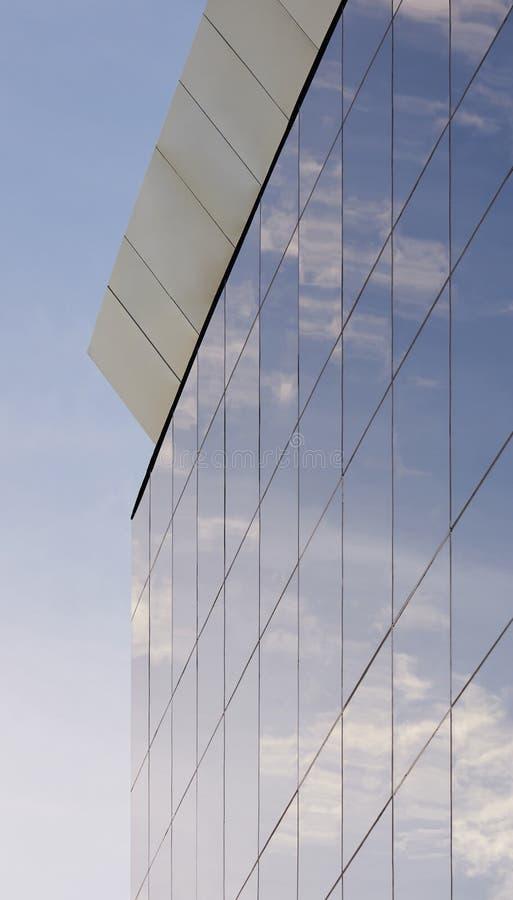 Modernes Glashandelsgebäude lizenzfreie stockfotos