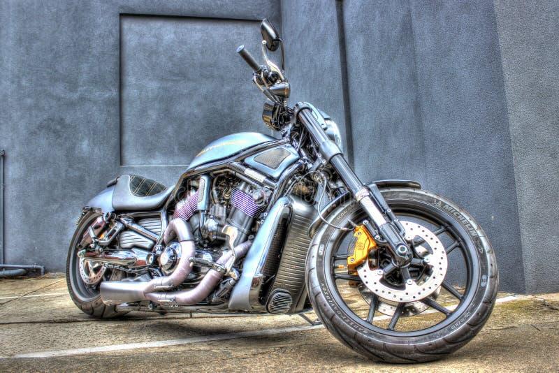 Modernes Harley Davidson-Motorrad lizenzfreies stockbild