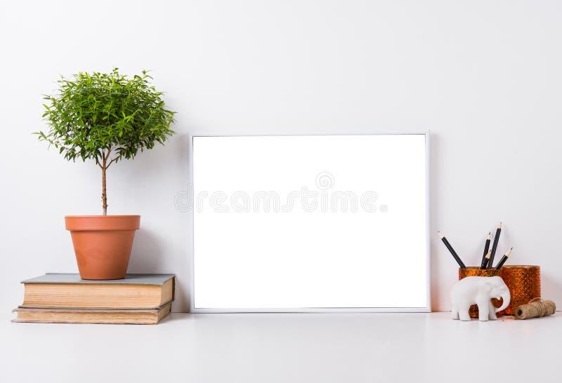 Modernes Hauptdekormodell stockfotos