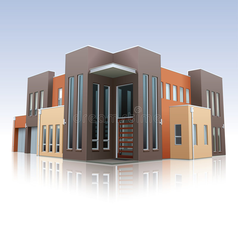 Modernes Haus vektor abbildung