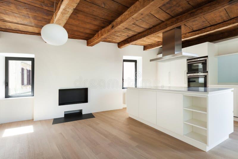modernes haus innen stockfoto bild von oberseite dachboden 39902740. Black Bedroom Furniture Sets. Home Design Ideas