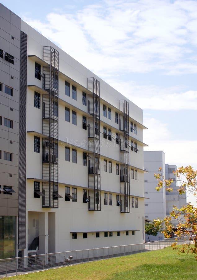 Modernes Industriegebäude, Sg lizenzfreies stockfoto