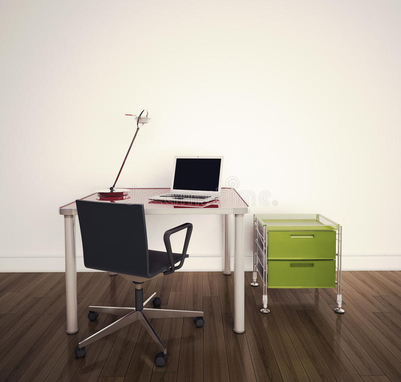 Modernes Innenbüro lizenzfreies stockbild