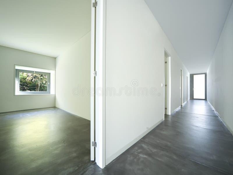 Modernes Innenhaus stockfotografie