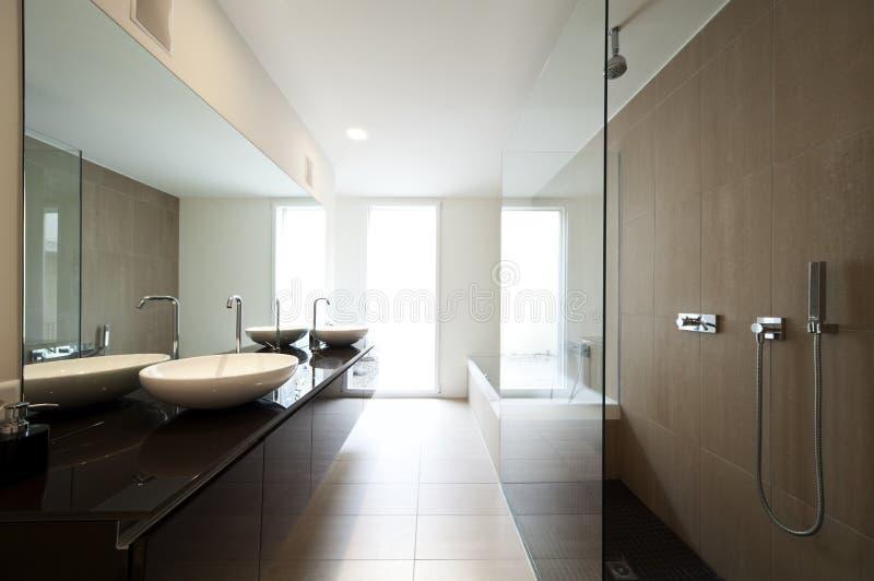 Moderner Hausinnenraum lizenzfreies stockbild
