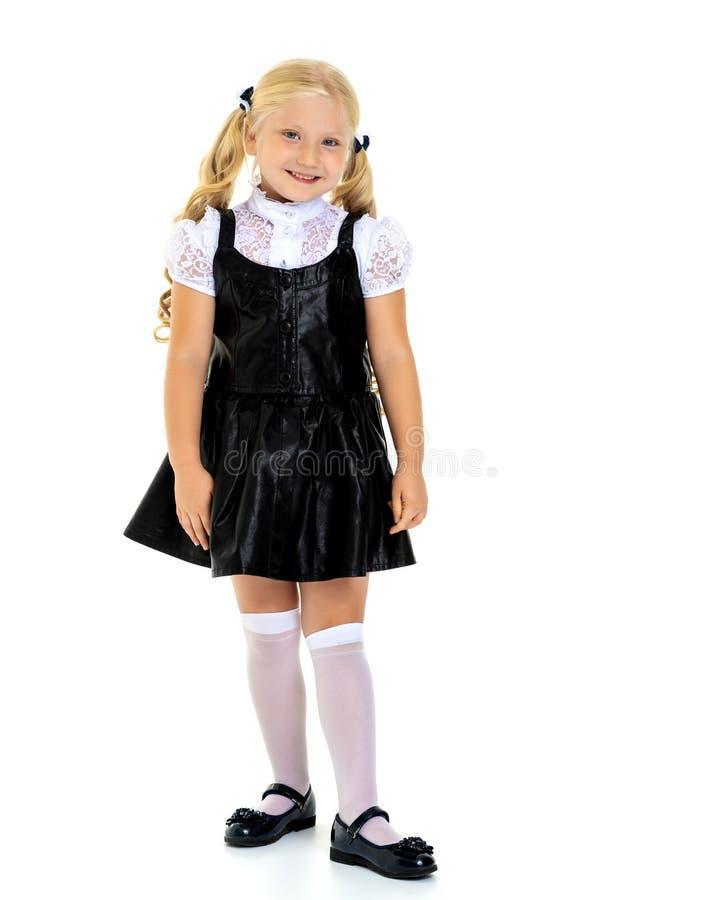 Modernes kleines Mädchen stockfoto