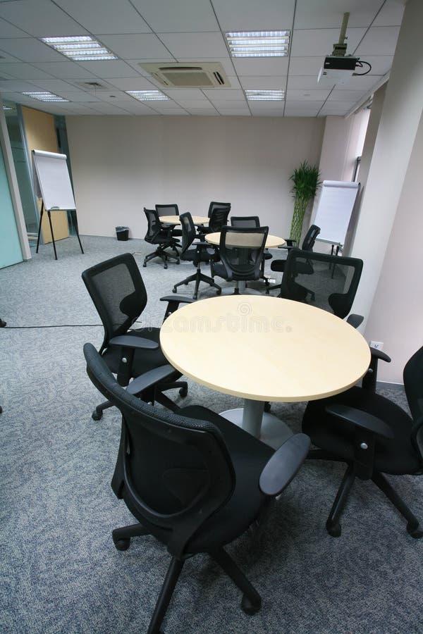 Modernes Konferenzzimmer stockbilder