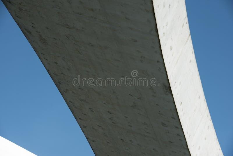 Modernes konkretes Gebäude stockbild