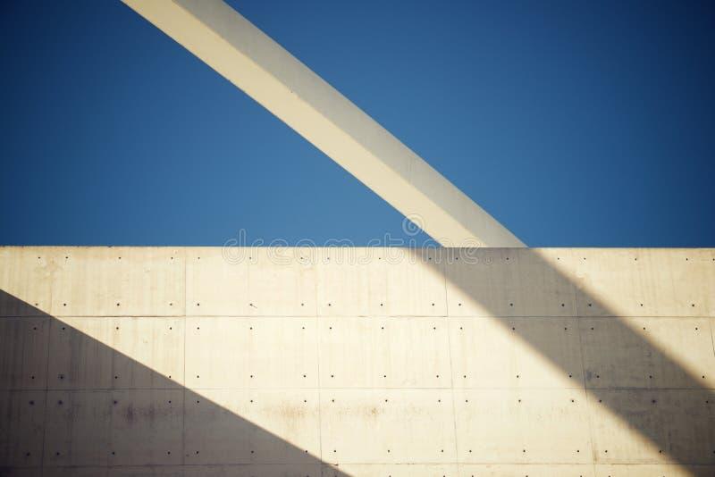 Modernes konkretes Gebäude lizenzfreie stockfotos