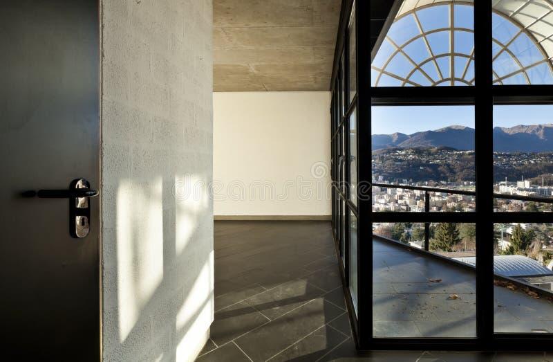 Landhaus Fenster modernes landhaus flur und fenster stockfoto bild flach