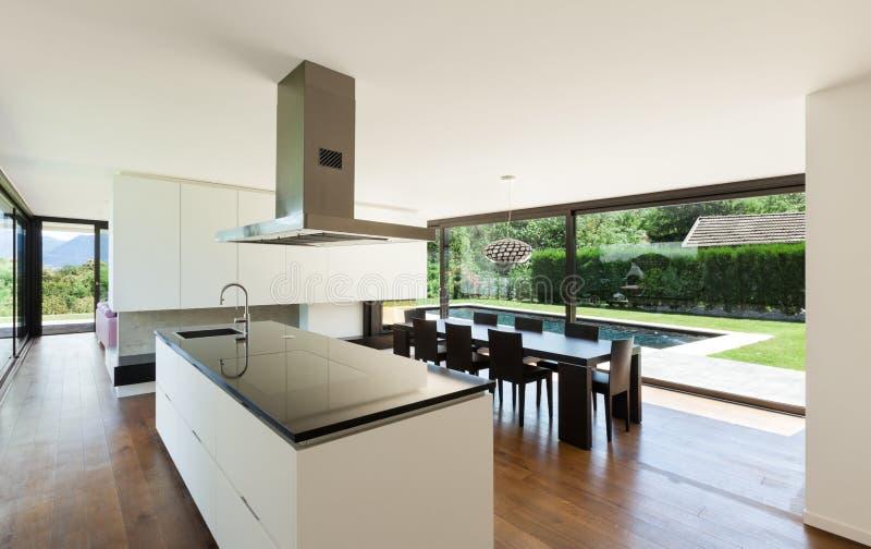 Modernes Landhaus, Innen lizenzfreie stockbilder
